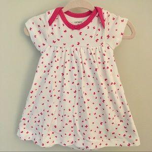 Carter's Butterfly Bodysuit Dress